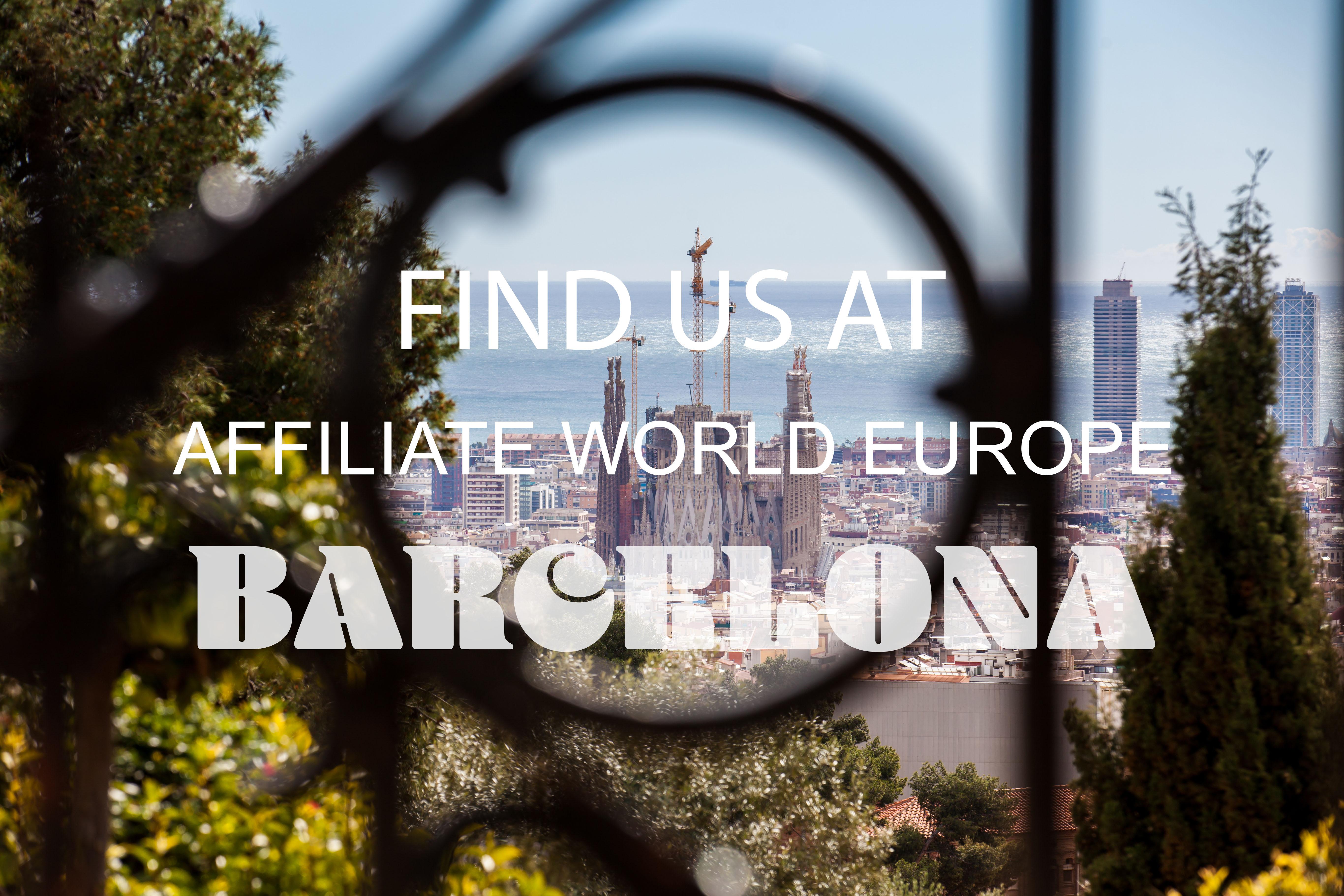 Affiliate world Europe Barcelona