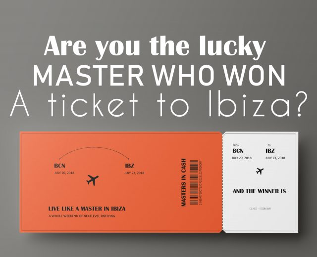 Ticket to Ibiza Masters in Cash
