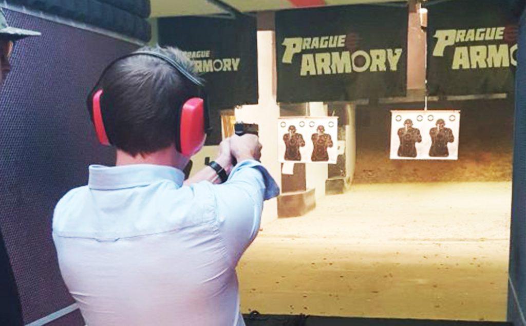 Prague Shooting range