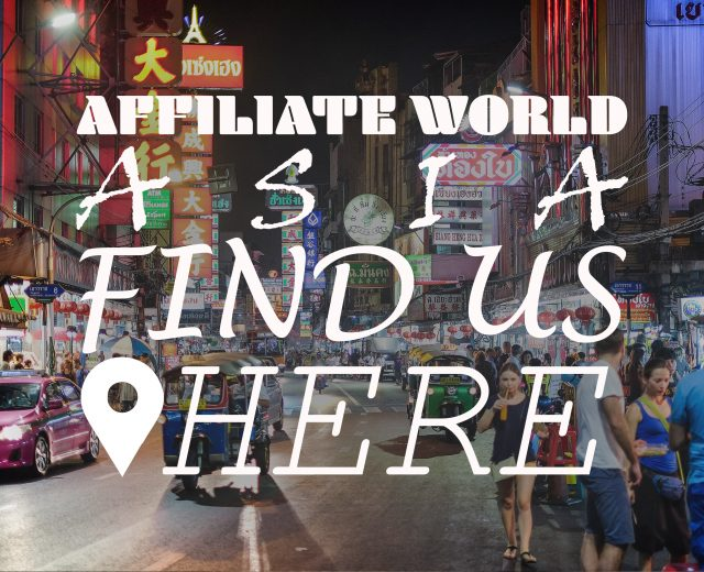Masters in Cash at Affiliate world Asia